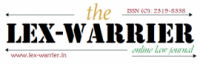 The Lex-Warrier: Online Law Journal